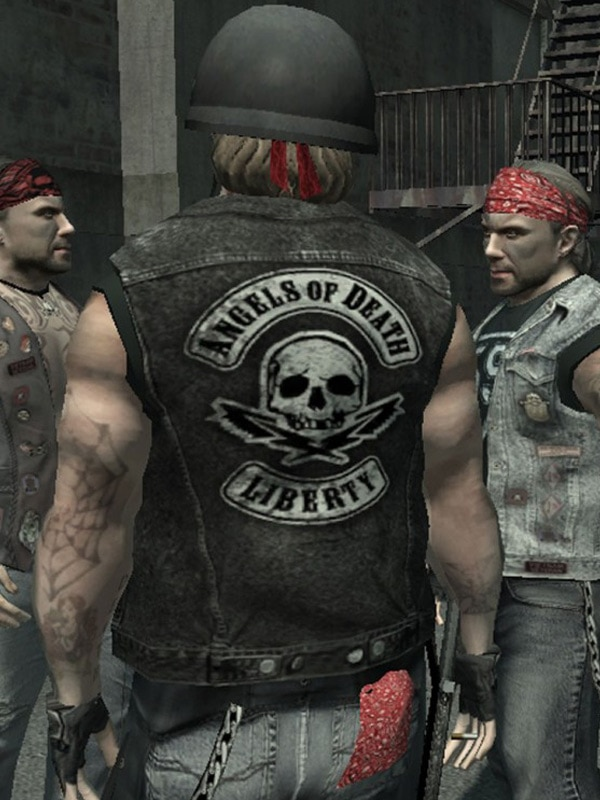 Angels Of Death Liberty Leather Vest