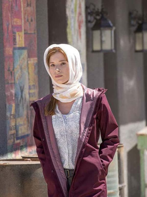 Cassie Conner Tv Series The Brave Stacey Farber Cotton Coat