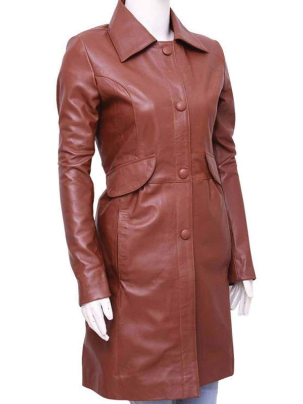 Donna Noble Doctor Who Brown Trench Coat