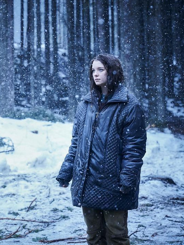 Esme Creed Miles Hanna Black Quilted Jacket