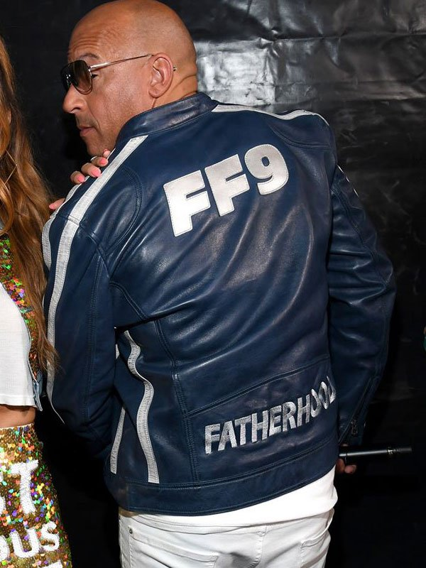 Fast and Furious 9 Blue Leather Jacket 1