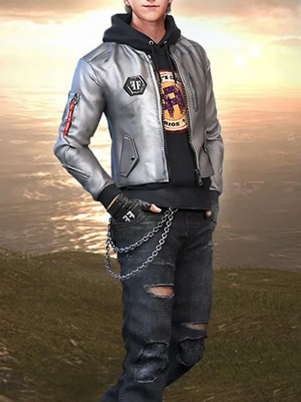 Free Fire Game Maxim Leather Jacket 01 1