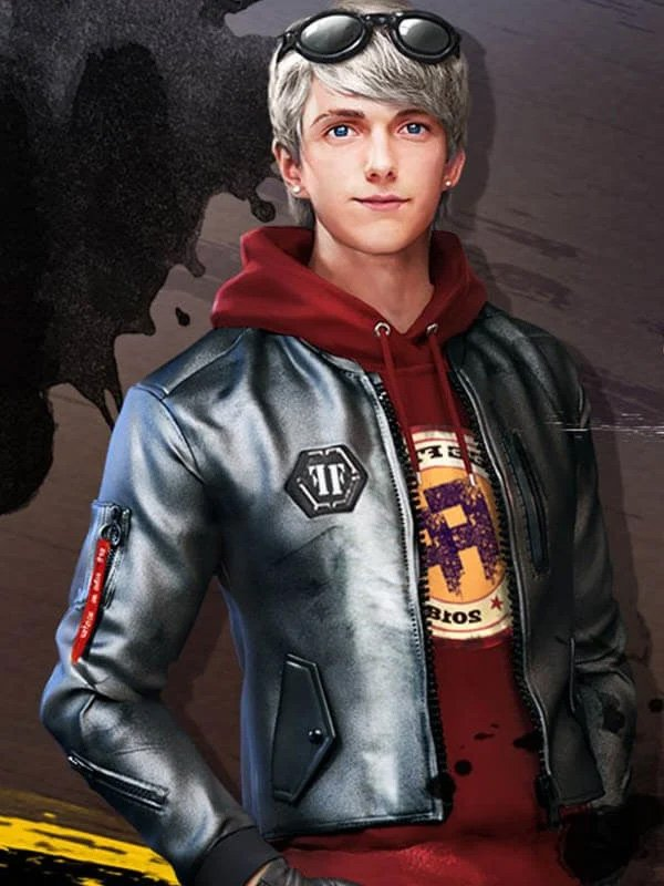 Free Fire Game Maxim Leather Jacket 02