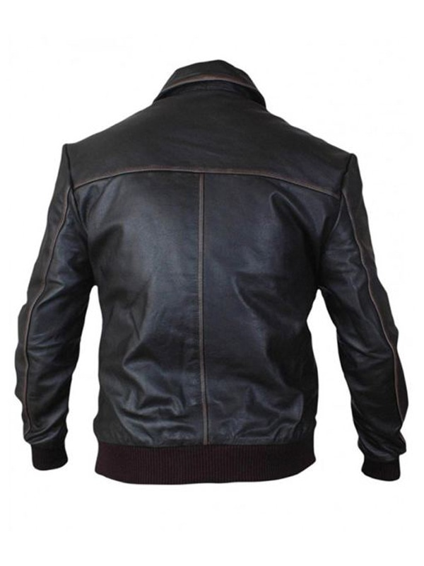 Jamie Dornan Once Upon A Time Brown Leather Jacket