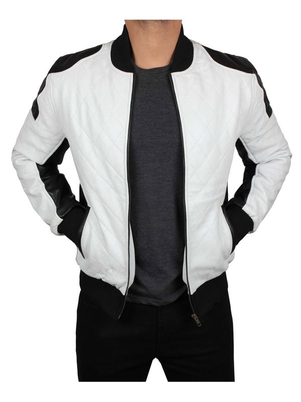 Joliet Perforated Leather Jacket
