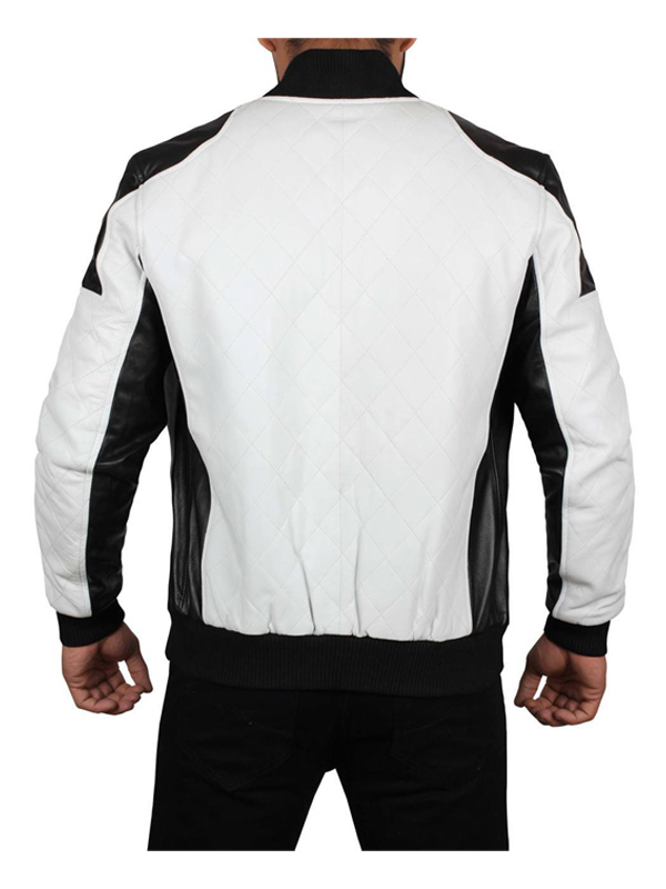 Joliet Perforated Mens Leather Jacket