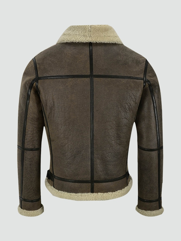 Mens Air Force Leather Jacket