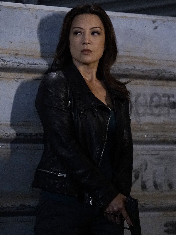 Ming Na Wen Agents Of Shield Leather Jacket