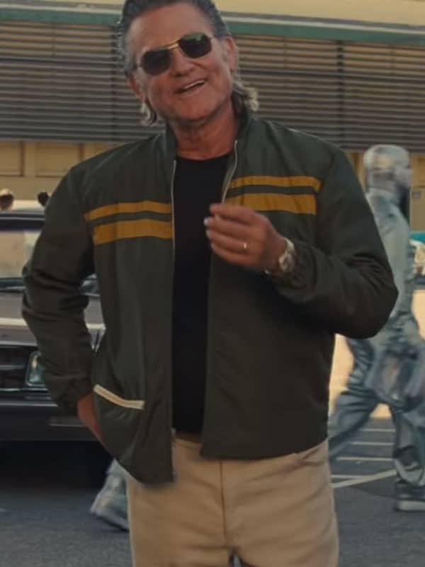Once Upon a Time in Hollywood Kurt Russell Jacket