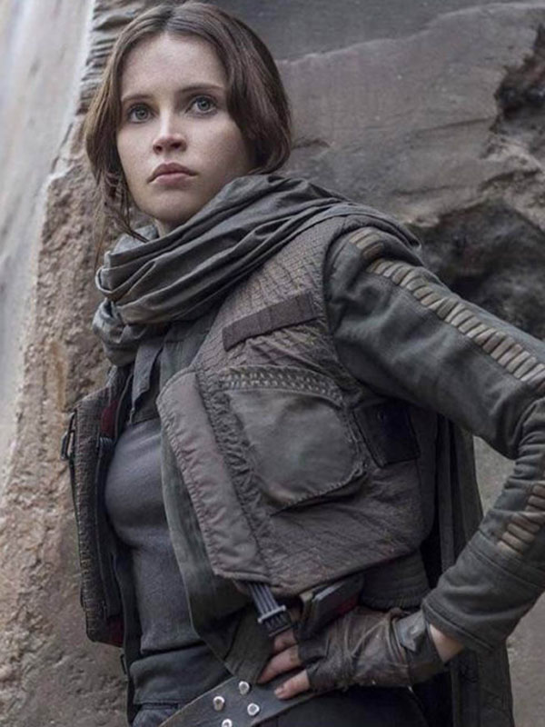 Rogue One Star Wars Story Jyn Erso Cotton Vest Jacket