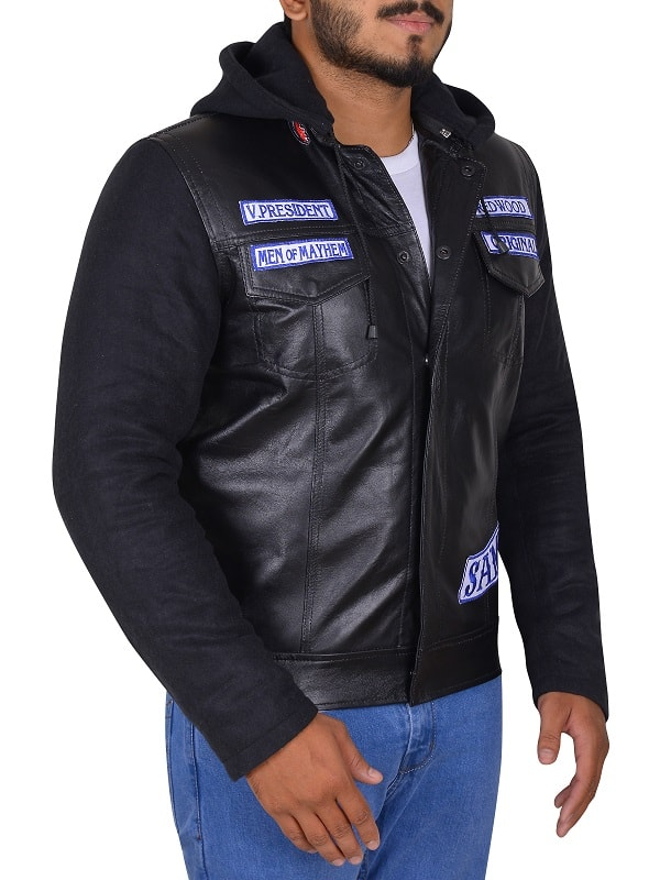 SOA Sons of Anarchy Leather Jacket