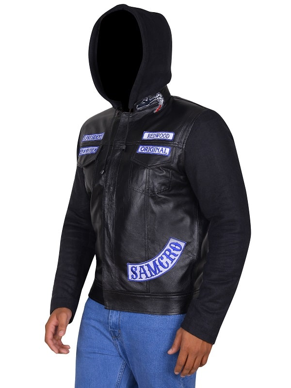 Sons of Anarchy Mens Leather Jacket