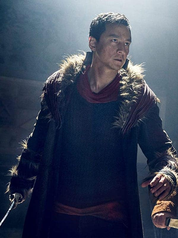 TV Series Into the Badlands Daniel Wu Leather Brown Shearlinng Coat