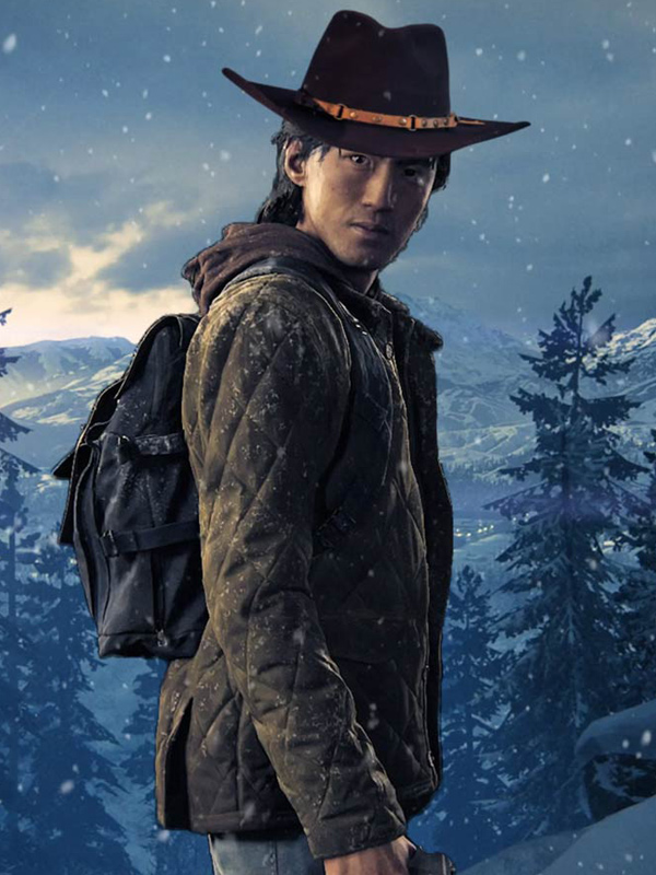 The Last Of Us Part II Jesse Quilted Brown Jacket