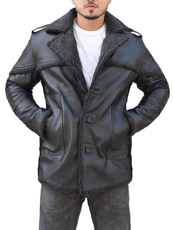 The Punisher 2 Billy Russo Black Jacket