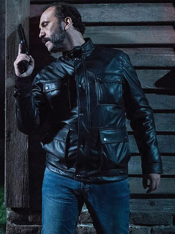 The Whistlers Leather Jacket