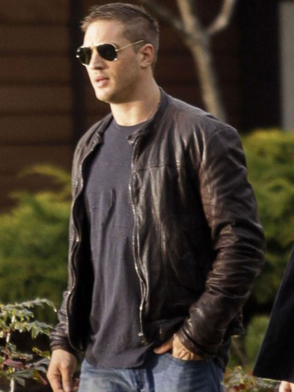 Tom Hardy This Means War Tuck Tom leather Jacket