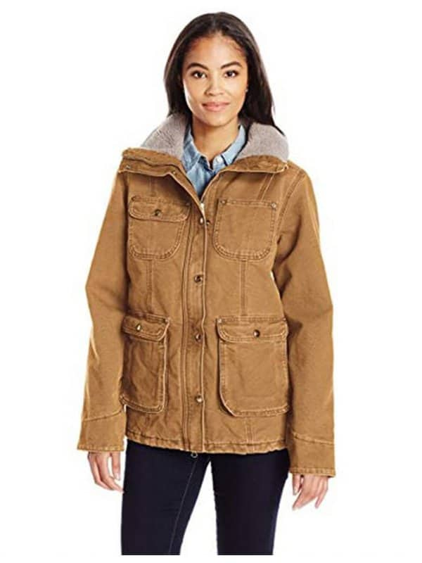 Yellowstone Kelsey Asbille Brown Cotton Jacket 1