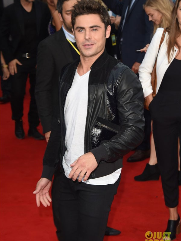 Zac Effron We Are Your Friends Cole Leather Jacket